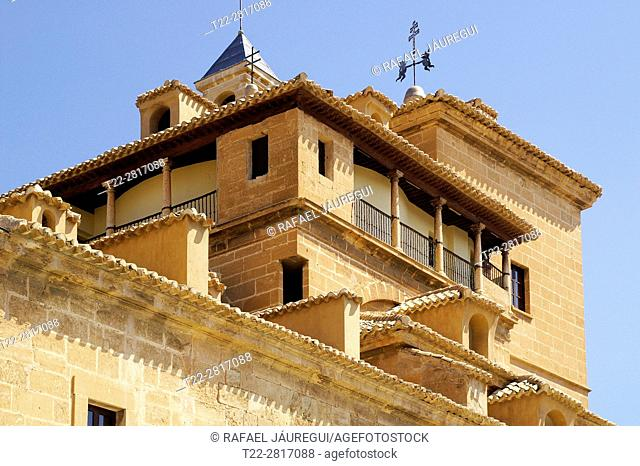 Caravaca de la Cruz (Murcia) Spain. Exterior of The Basilica of Santísima and Vera Cruz