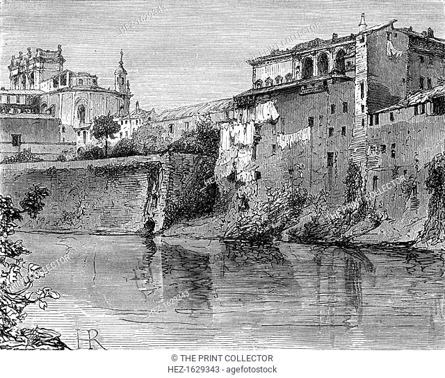 Villa Farnese, province of Viterbo, north-west of Rome, Italy, 19th century