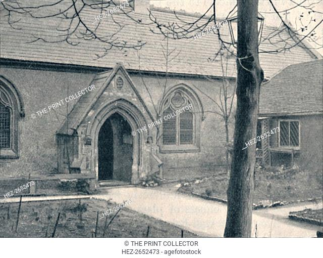 'Chapel of St. Mary's Hospital, Great Ilford, Essex', 1903. St Mary's Church, Great Ilford is a Church of England parish church in Ilford in the London Borough...