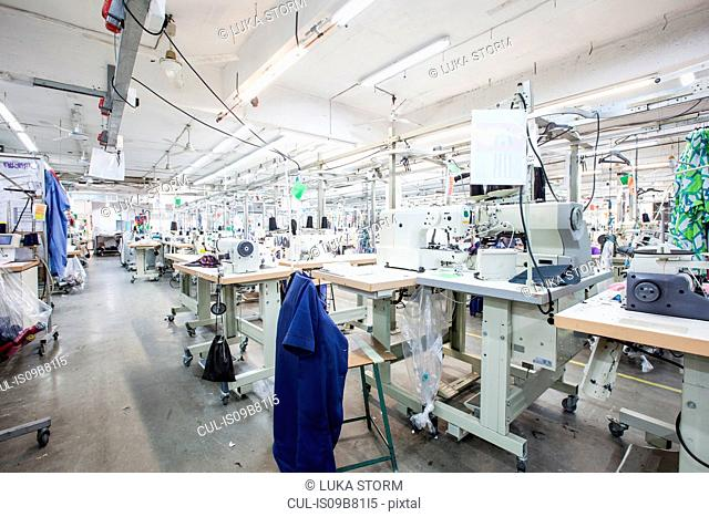 Fabric sewing factory, Cape Town, South Africa