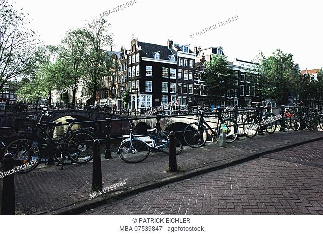 Netherlands, North Holland, Amsterdam, typical townscape