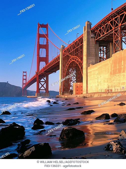 Golden Gate Bridge, San Francisco. California, USA