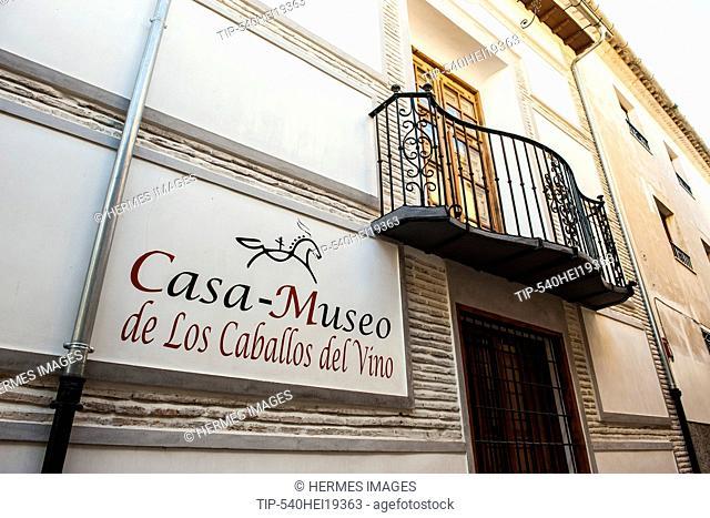 Spain, Murcia region, Caravaca de la Cruz, Casa museo de los caballos del vino