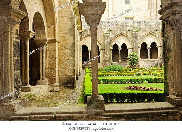 Cathedral of Tui cloister  Tui, Pontevedra, Spain