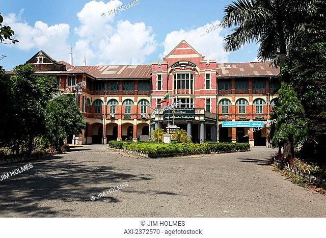 Pansoedan Middle School, formerly a Catholic school; Yangon, Myanmar