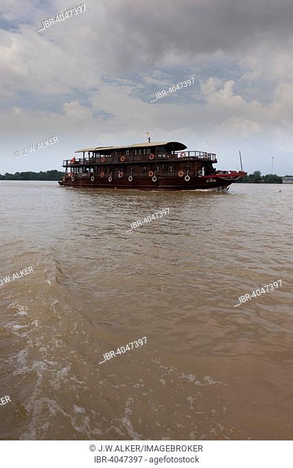 Bassac ship, Mekong Cruise, Mekong Delta, Can Tho, Vietnam