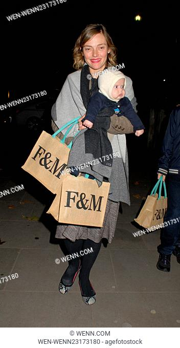 Skate at Somerset House with Fortnum & Mason - opening party & VIP launch at Somerset House Featuring: Camilla Rutherford Where: London
