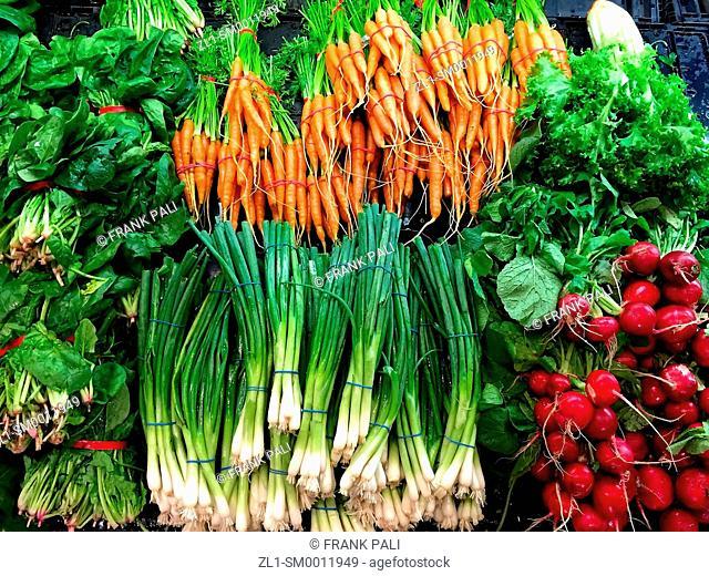 Farm Fresh mixed organic vegetables