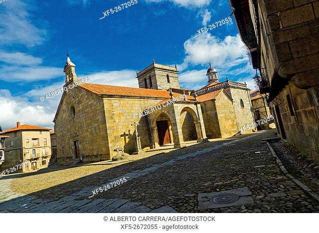 Nuestra Señora de la Asunción Parish Church, 18th century, Medieval Town, Historic Artistic Grouping, Spanish Property of Cultural Interest, La Alberca
