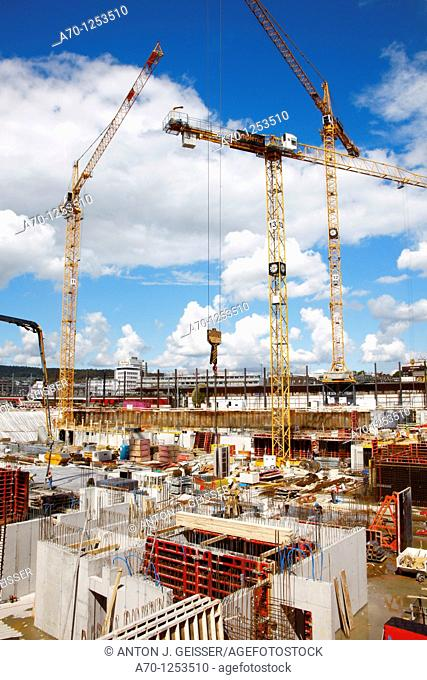 Building site , zurich switzerland