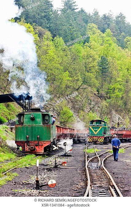 freight trains, delivery point in Oskova, Bosnia and Hercegovina