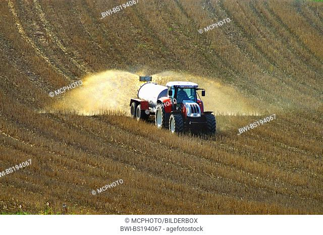 to manure a field, Germany