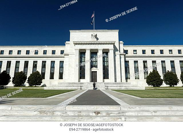The Federal Reserve Building, Washington DC, USA