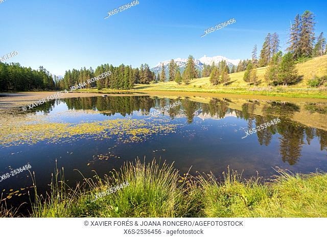 Roue lake in the Parc Naturel Régional du Queyras, Hautes-Alpes, Provence-Alpes-Côte d'Azur, France