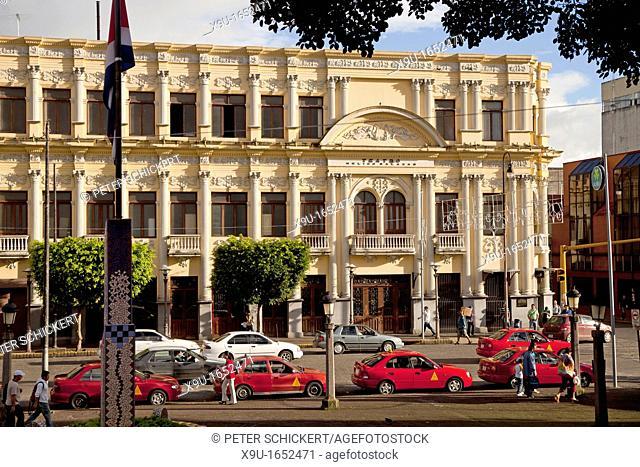 The Melico Salazar Theatre in the capital San Jose, Costa Rica, Central America