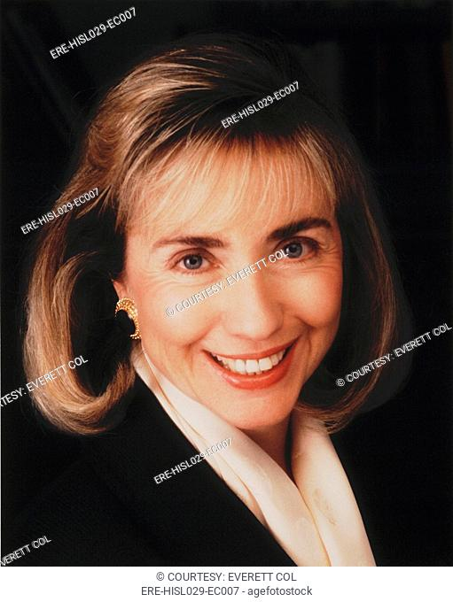 First Lady Hillary Clinton in a 1992 portrait