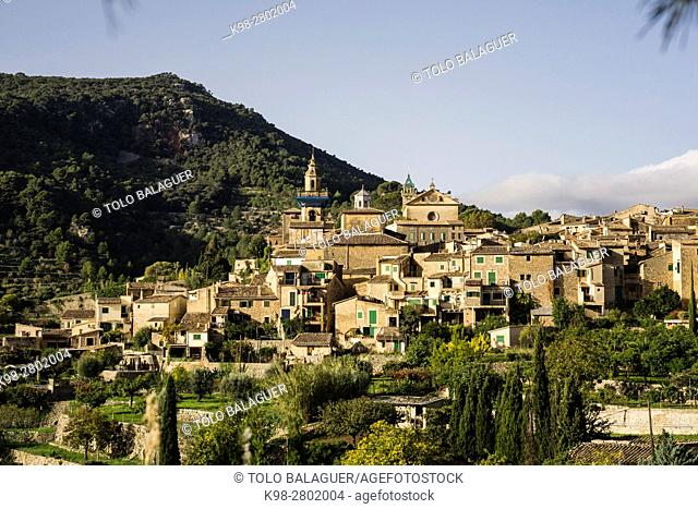 Cartuja , Valldemossa, Sierra de Tramuntana, Mallorca, Balearic Islands, spain, europe