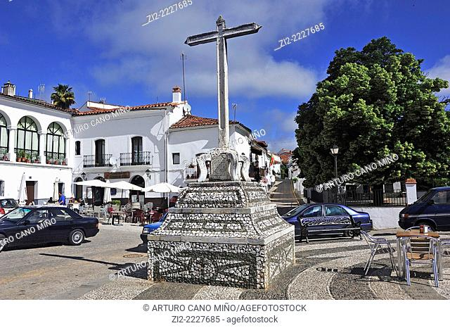 Coso Square, Fuenteheridos, Huelva province, Spain