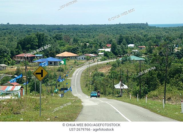 Kuching-Telaga Air Road, Matang, Sarawak, Malaysia
