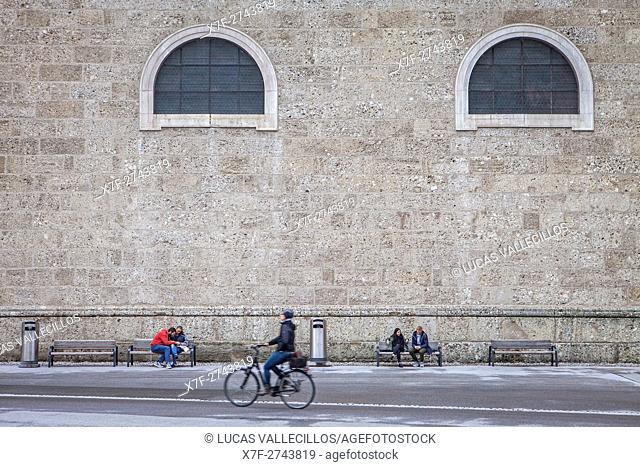 Facade of Cathedral, Salzburg, Austria