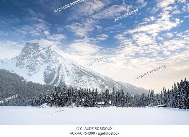 Emerald Lake Lodge, Yoho Naional Park, Field, British Columbia, Canada