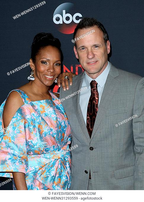 ABC's 'Scandal' 100th Episode Celebration - Arrivals Featuring: Kira Arne, Tom Verica Where: West Hollywood, California, United States When: 08 Apr 2017 Credit:...