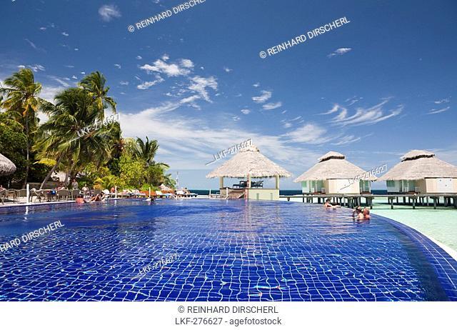 Pool of Maldive Island Ellaidhoo, Maldives, North Ari Atoll