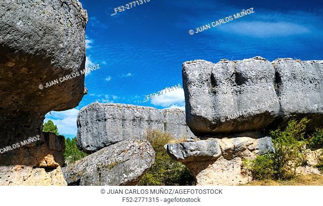 Ciudad Encantada, Serranía de Cuenca Natural Park, Cuenca province, Castile La Mancha, Spain, Europe