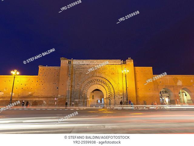 Bab Agnaou (Bab Er Robb), Marrakech, Morocco