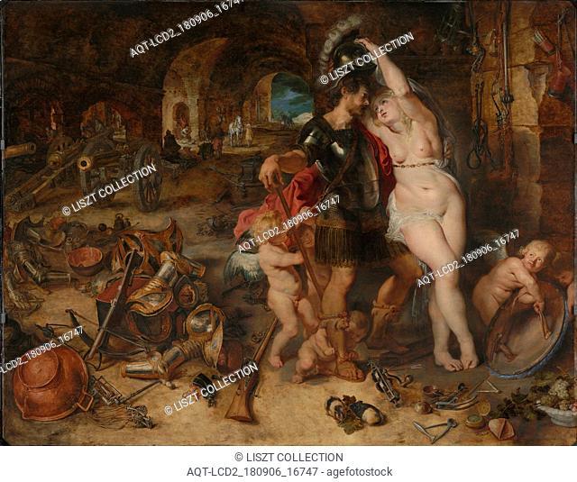 The Return from War: Mars Disarmed by Venus; Peter Paul Rubens (Flemish, 1577 - 1640), and Jan Brueghel the Elder (Flemish
