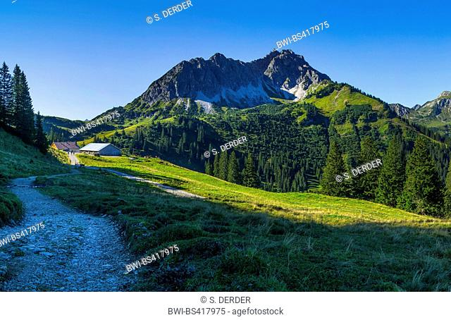 Litnisschrofen, Austria, Tyrol, Tannheimer Berge