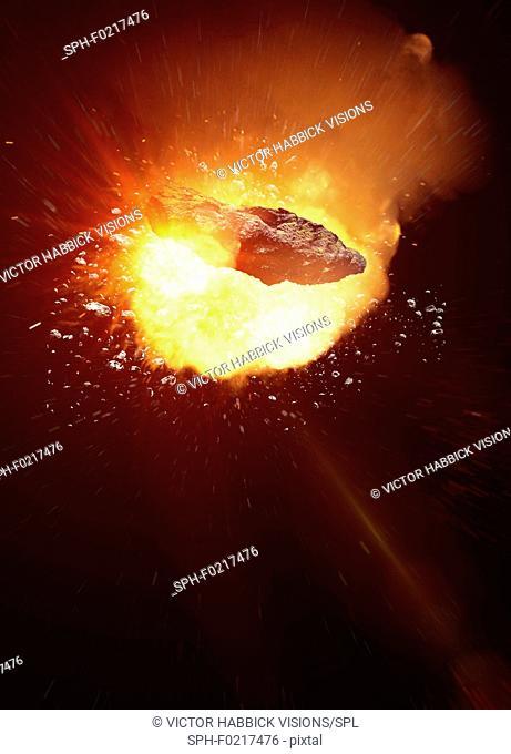 Asteroid, illustration