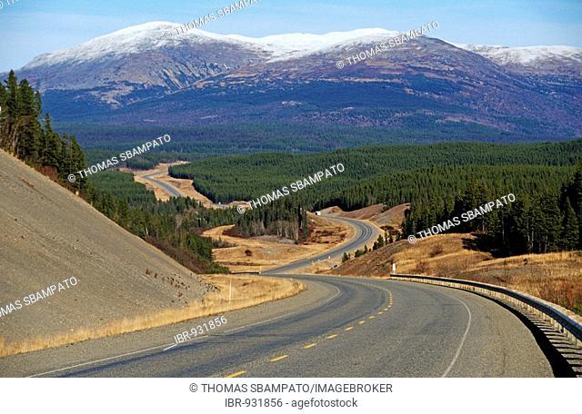 Alaska Highway, Yukon Territory, Canada, North America