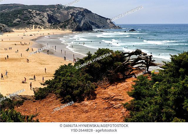 Praia do Amado, Costa Vicentina, Algarve, Portugal