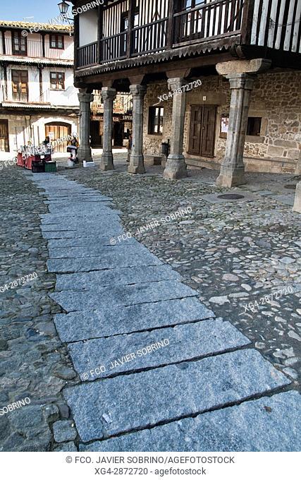 Plaza Mayor - La Alberca - Salamanca - Castilla-León - España - Europa