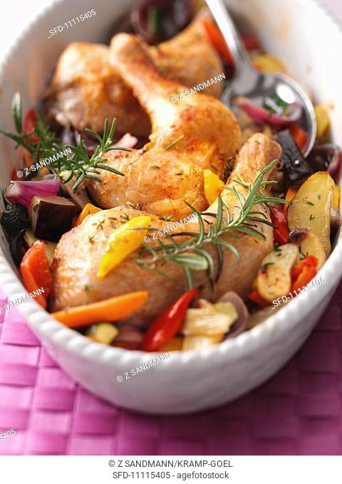 Mallorquin-style chicken