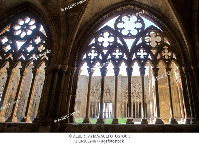 Seu Vella (The Old Cathedral) of Lleida. Catalonia, Spain