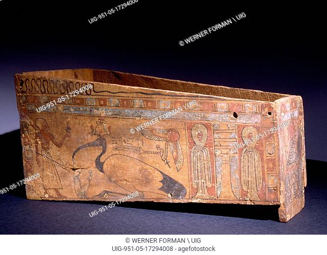 Miniature coffin for the mummy of a sacred ibis