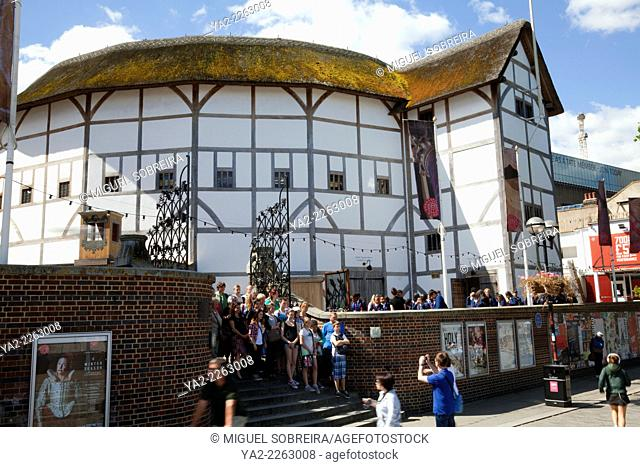 Globe Theatre on the Southbank in London - UK