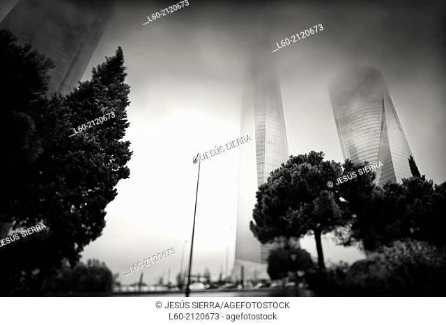 Cuatro Torres, CTBA, Madrid, Spain
