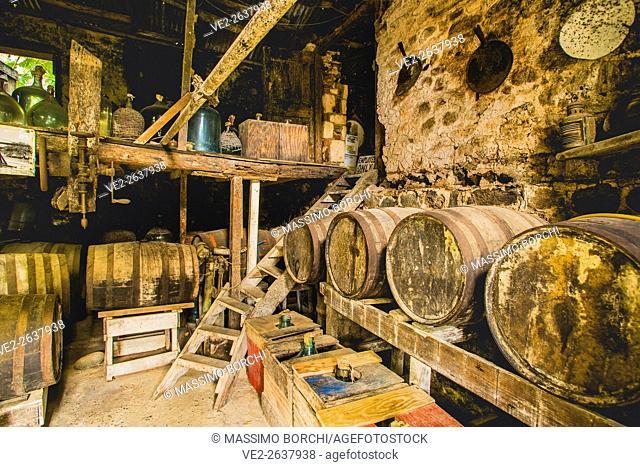 British Virgin Islands (U.K.), Tortola . Cane Garden Bay. Callwood Rum Distillery