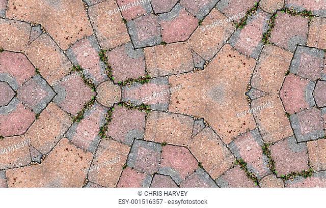 Seamless Stone Floor Pattern