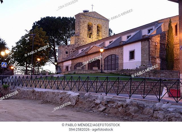 Church of Asuncion in Pelayos de la Presa, Madrid, Spain