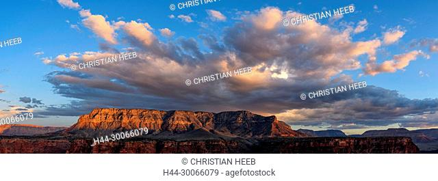 North America, American, USA, Desert Southwest, Colorado Plateau, Arizona, Grand Canyon National Park, North rim, Toroweap Point