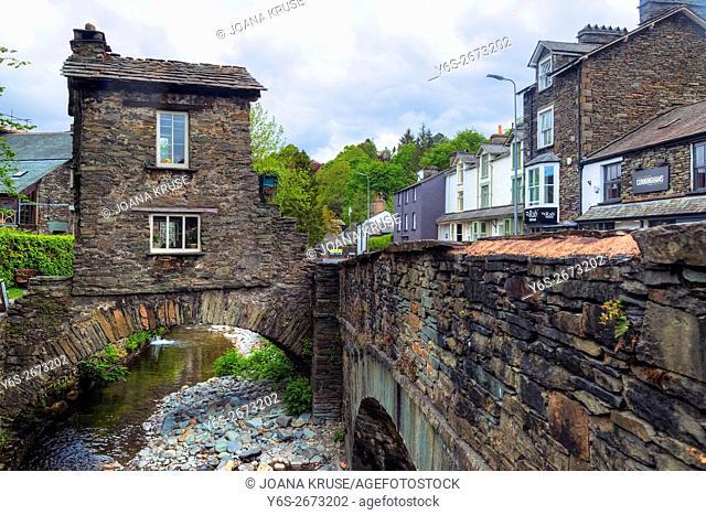 Ambleside, Bridge House, Lake District, Cumbria, England, UK