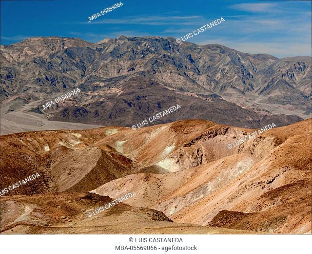 Artists' Palette, Death Valley National Park, USA