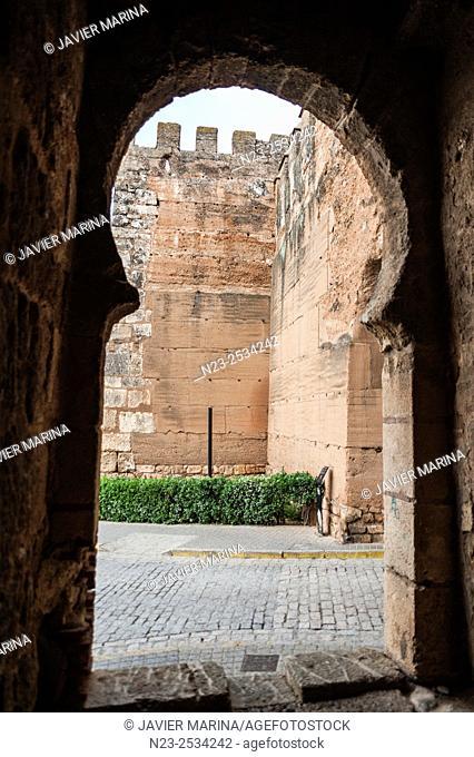 City walls, Niebla, Huelva, Spain