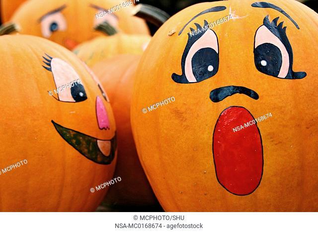 handpainted pumpkin