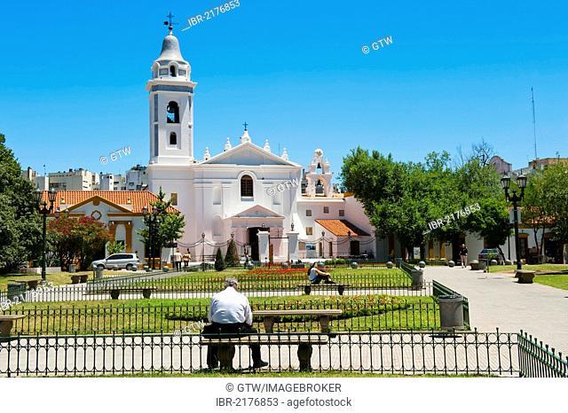 Nuestra Senora del Pilar Church, La Recoleta, Buenos Aires, Argentina, South America