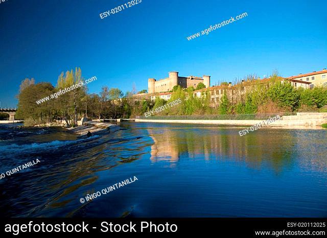 tormes river at barco village